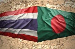 La Thaïlande et le Bangladesh Photographie stock