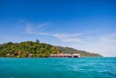 LA THAÏLANDE, KNOCK-OUT CHANG Île tropicale de la Thaïlande de Koh Chang Tantawan-station de vacances d'hôtel Photos libres de droits