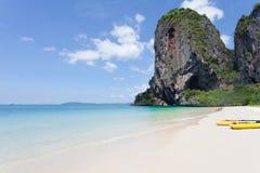 La Thaïlande - la plage de Phra Nang Image libre de droits