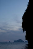 La Thaïlande - la plage de Phra Nang Photographie stock libre de droits
