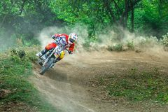 La Thaïlande, Lampang-motocross Photo libre de droits