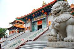 LA THAÏLANDE - 27 NOVEMBRE 2015 : Temple traditionnel et d'architecture de style chinois, Nonthaburi en septembre 2012 chez Wat M Photo stock
