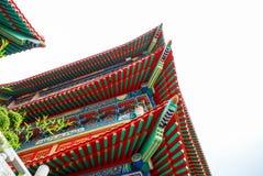 LA THAÏLANDE - 27 NOVEMBRE 2015 : Temple traditionnel et d'architecture de style chinois, Nonthaburi en septembre 2012 chez Wat M Photographie stock libre de droits