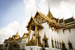 La Thaïlande - palais grand Photos libres de droits