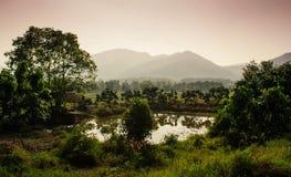 La Thaïlande rurale 1 photo stock