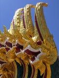 La Thaïlande, serpent, le Wat thaï, les arts et la culture Images stock