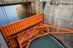 La Thaïlande, structure établie, industrie du bâtiment, grue - machines de construction, usine photos stock
