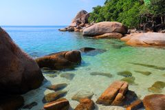 La Thaïlande - le Koh Tao Images stock