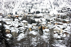La Thuile Stock Photography
