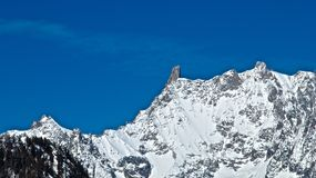 La Thuile de la montaña Fotografía de archivo