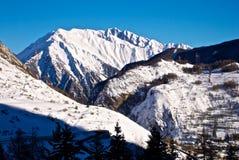 La Thuile de la montaña Imágenes de archivo libres de regalías
