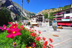 La Thuile, Italy Royalty Free Stock Image