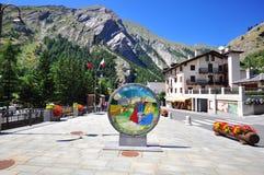 La Thuile resort, Italy Royalty Free Stock Photo