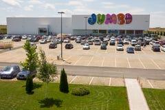 La tienda Bourgas, Bulgaria de los niños más grandes Imagen de archivo libre de regalías