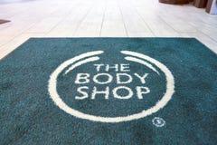 La tienda de Body Shop Fotos de archivo libres de regalías
