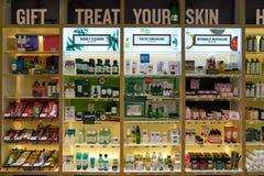 La tienda de Body Shop Foto de archivo