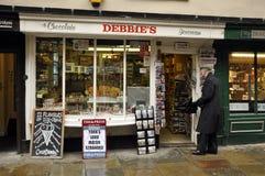 La tienda de chucherías de Debbie Imágenes de archivo libres de regalías