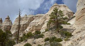 La tienda de Kasha-Katuwe oscila el monumento nacional, New México, los E Foto de archivo libre de regalías