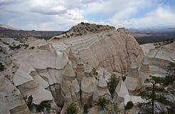 La tienda de Kasha-Katuwe oscila el monumento nacional, New México, los E Fotos de archivo