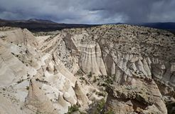 La tienda de Kasha-Katuwe oscila el monumento nacional, New México, los E Imagenes de archivo