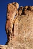 La tienda de Kasha-Katuwe oscila el monumento nacional, New México, los E.E.U.U. Imagen de archivo libre de regalías