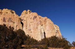 La tienda de Kasha-Katuwe oscila el monumento nacional, New México, los E.E.U.U. Imagenes de archivo