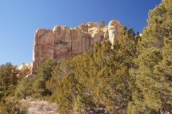 La tienda de Kasha-Katuwe oscila el monumento nacional, New México, los E.E.U.U. Foto de archivo libre de regalías