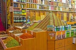 La tienda de la especia Imagen de archivo libre de regalías