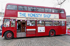 La tienda de la honradez Fotos de archivo libres de regalías