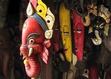 La tienda de la máscara Foto de archivo