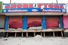 La tienda de la orilla Foto de archivo