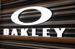La tienda de Oakley en theKing de la alameda de Prusia Foto de archivo libre de regalías