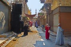 La tienda del abaya Imagen de archivo