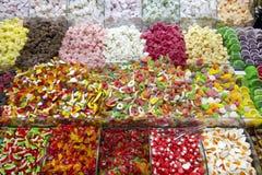 La tienda del caramelo Foto de archivo
