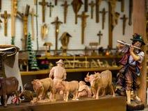 La tienda del carpintero alemán Imágenes de archivo libres de regalías