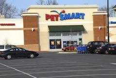 La tienda elegante del animal doméstico en el laurel, Maryland imagen de archivo libre de regalías