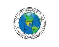 La tierra ilustración del vector