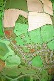 La tierra de antedicho - vertical Imagen de archivo libre de regalías