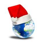 La tierra del Año Nuevo Imágenes de archivo libres de regalías