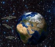 La tierra del planeta Foto de archivo