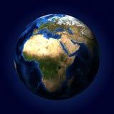 La tierra del planeta Fotografía de archivo
