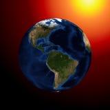 La tierra del planeta Fotografía de archivo libre de regalías