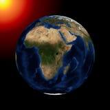 La tierra del planeta Imagen de archivo libre de regalías