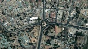 La tierra enfoca adentro enfoque fuera de Dodoma Tanzania metrajes