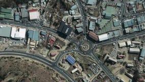 La tierra enfoca adentro enfoque fuera de Maseru Lesotho libre illustration