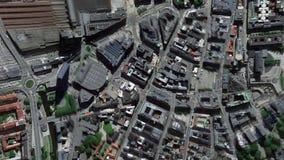 La tierra enfoca adentro enfoque fuera de Oslo Noruega libre illustration
