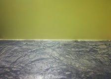 La tierra está con amarillo de la pared Foto de archivo