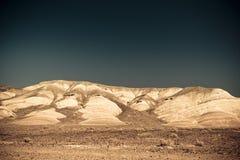 La tierra estéril le gusta Marte Fotos de archivo