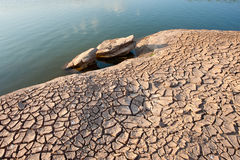 La tierra seca Fotografía de archivo libre de regalías