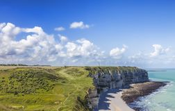 Normandy Coastline Royalty Free Stock Photography